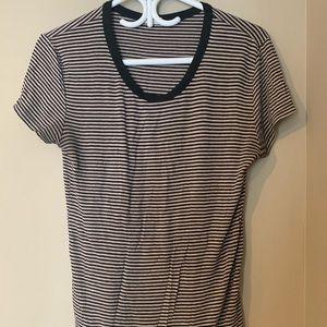 aritzia striped t-shirt